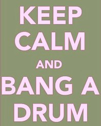 Bang drums